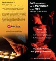 Avond van de Martelaren - Bisdom Haarlem