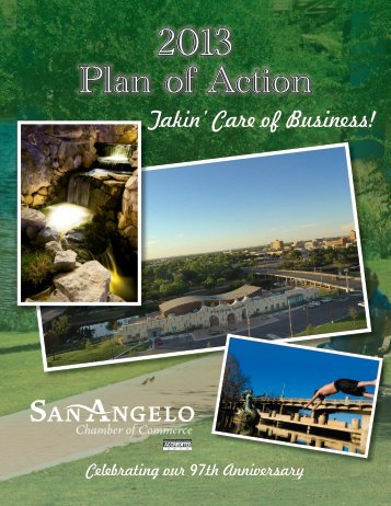 2013 Plan of Action - San Angelo Chamber of Commerce
