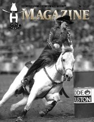 Paul G. Somerville - Houston Livestock Show and Rodeo