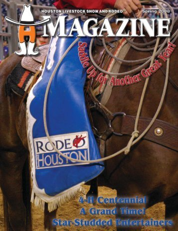 A Message From the Chairman - Houston Livestock Show and Rodeo