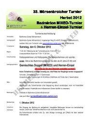 Ausschreibung - BABIG.DE