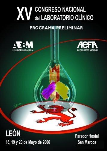 programa - Asociación Española de Biopatología Médica