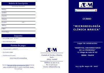 PROGRAMA (pdf) - Asociación Española de Biopatología Médica