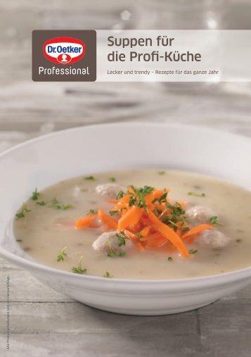 Suppen für die Profi-Küche