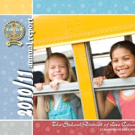 2010/11 Annual Report - Part 1 - Communications - Lee County ...