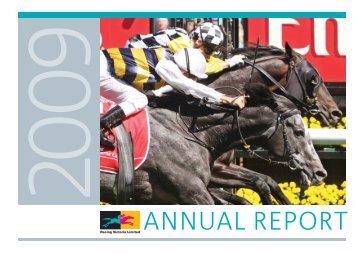 ANNUAL REPORT - Racing Victoria