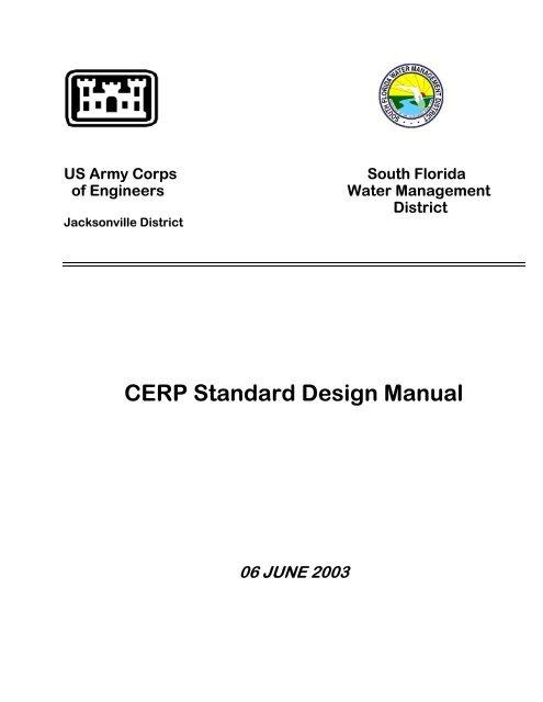 Cerp Standard Design Manual Jacksonville District U S Army
