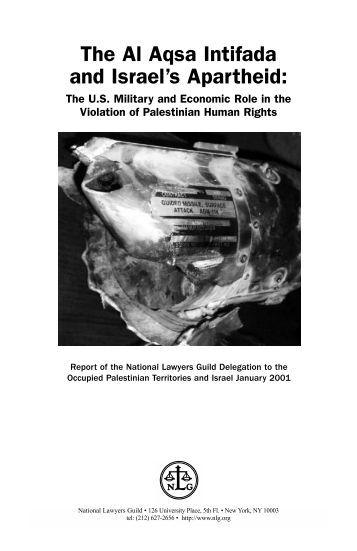 The Al Aqsa Intifada and Israel's Apartheid - Palestinian Center for ...