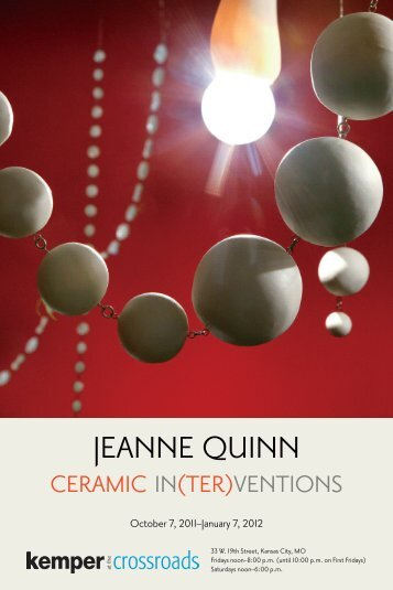 view show brochure - Jeanne Quinn