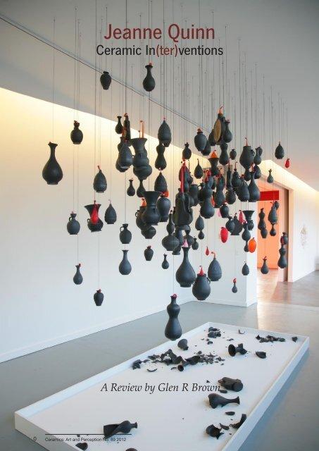 Jeanne Quinn Ceramic In(ter)ventions