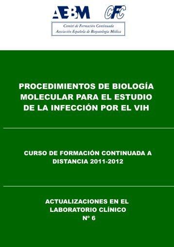 procedimientos de biología molecular para el estudio de la infección ...