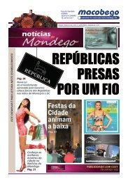 2º Edição - Notícias do Mondego - REPÚBLICAS PRESAS POR UM FIO