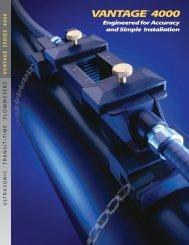 VANTAGE® 4000 Acoustic Sensors - Eastech Flow Controls
