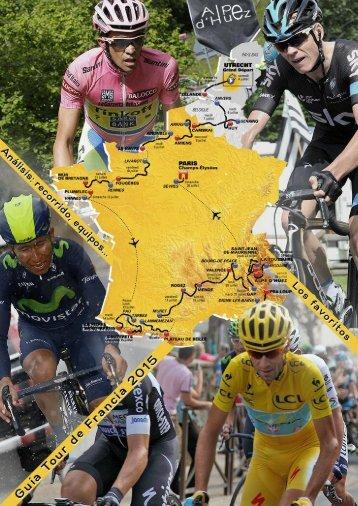 Guía Tour de Francia 2015