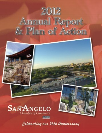 2012 Annual Report & Plan of Action - San Angelo Chamber of ...