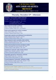 Thursday, December 13th - Afternoon