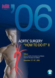 """AORTIC SURGERY """"HOW TO DO IT"""" II - 5th international congress ..."""