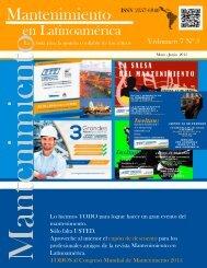 Revista mantenimiento en Latinoamerica Mayo 2015