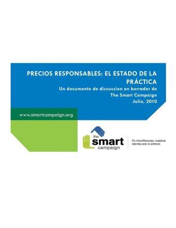 precios responsables: el estado de la práctica - The Smart Campaign