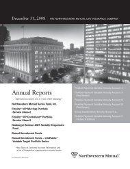Annual Reports - Northwestern Mutual