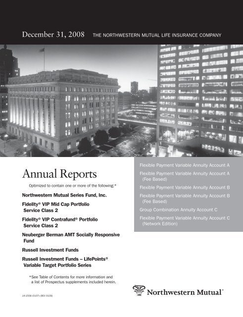 Annual Reports Northwestern Mutual