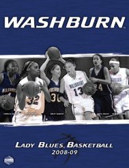 2008-09 - Washburn Athletics