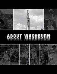 ABOUT WASHBURN - Washburn Athletics
