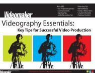 Videography Essentials: - Smith Video