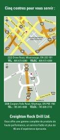 MISSISSAUGA (905) 673-8200 - Creighton Rock Drill Ltd. - Page 2