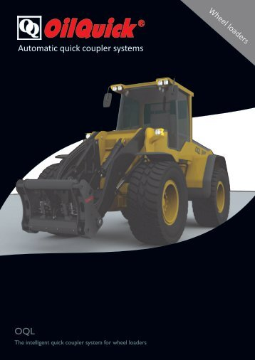 Quick couplers for wheel loaders