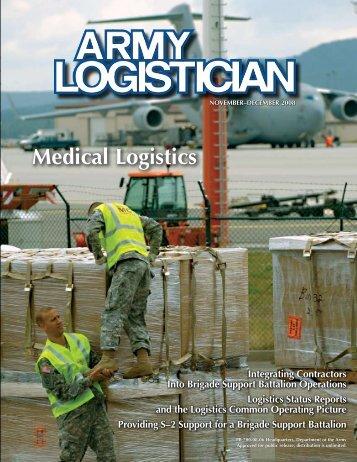 Medical Logistics - Army Logistics University - U.S. Army