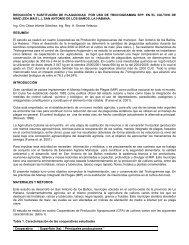 reducción y sustitución de plaguicidas por uso de trichogramma spp ...