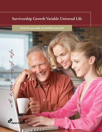 Survivorship Growth Variable Universal Life Client ... - Penn Mutual
