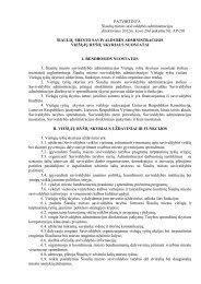 Viešųjų ryšių skyriaus nuostatai - Šiaulių miesto savivaldybė
