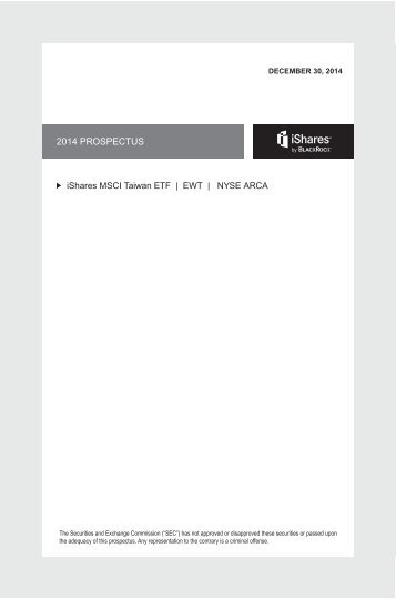 annual updated us prospectus – dated 1 january, 2013 - iShares