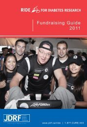 2011 - Ride Fundraising Guide - Eng.indd - DonorDrive