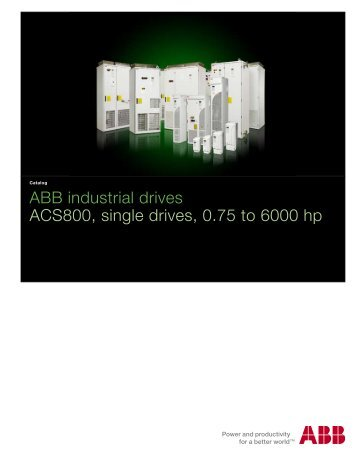 ABB industrial drives