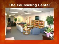 The Counseling Center – TAMUC - Texas A&M University-Commerce