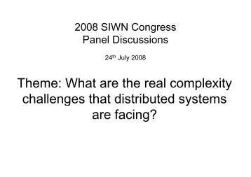 What are the real complexity challenges that distributed systems ...