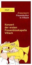 Konzert der ersten Frauenblaskapelle Villach