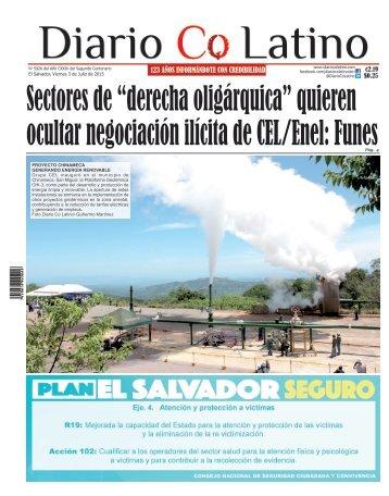 Edición 3 de Julio de 2015