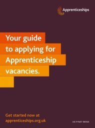 Your guide to applying for Apprenticeship vacancies. - Strode College