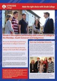 2012 issue 1 - Strode College