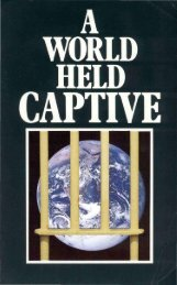A World Held Captive PDF - Church of God Faithful Flock