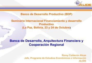BNDES - Banco de Desarrollo Productivo