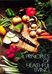 Principles of Healthful Living PDF - Church of God Faithful Flock