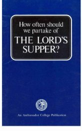 How Often Should We Partake Of The Lord's Supper PDF