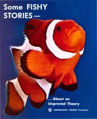 Some Fishy Stories about an Unproved Theory PDF - Church of God ...