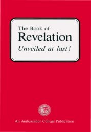 The Book of Revelation Unveiled at Last - Church of God Faithful Flock