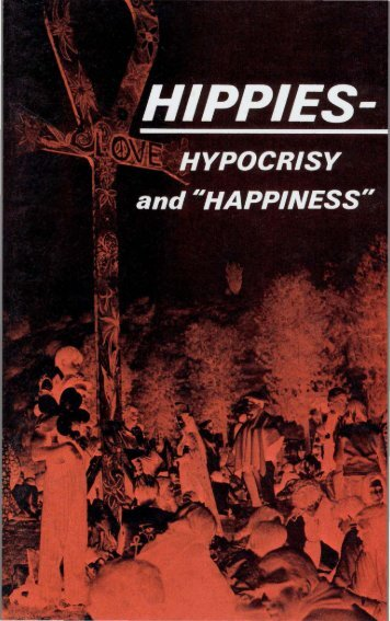 Hippies Hypocrisy and Happiness PDF - Church of God Faithful Flock